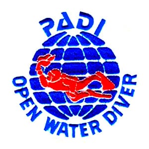 PADIOpenWaterPatch