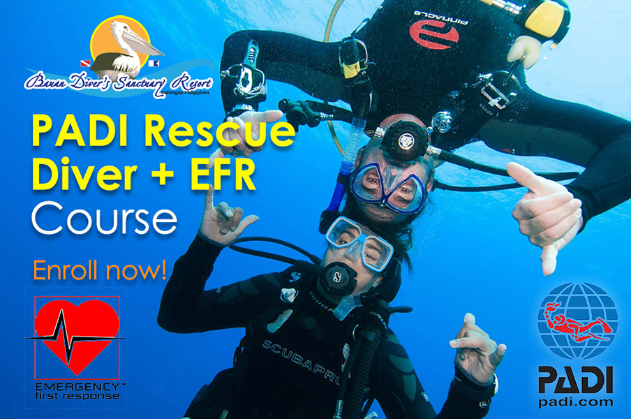 PADI Rescue Diver + Emergency First Response